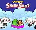 Garfield - střílení ovcemi - Garfield´s Sheep Shot - flash hra online