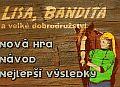 Lisa, Bandita a velké dobrodružství - koňská flash hra online