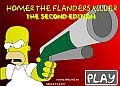 Homer Flanders Killer game online flash free