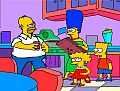 Simpsons Toxic Boogie game online flash free