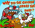 Chicken across the Road - easter flash game online