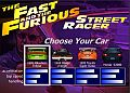 The Fast and The Furious - závodní flash hra online